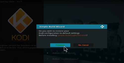 How to Install Simple Build Light Firestick with Screenshots step 20