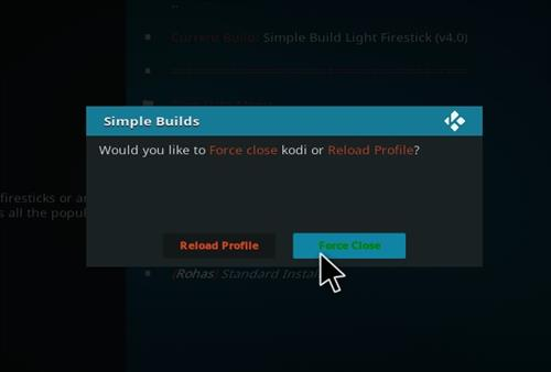 How to Install Simple Build Light Firestick with Screenshots step 21