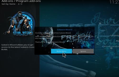How to Install Subzero Kodi Build with Screenshots step 21