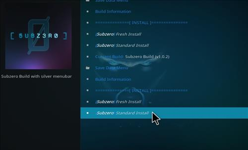 How to Install Subzero Kodi Build with Screenshots step 25