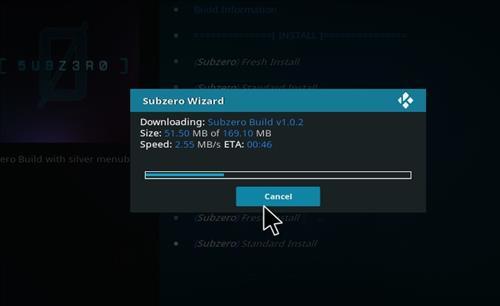 How to Install Subzero Kodi Build with Screenshots step 27