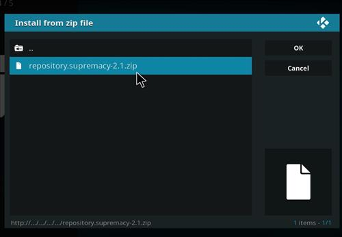 How to Install Supremacy Kodi Add-on with Screenshots step 13