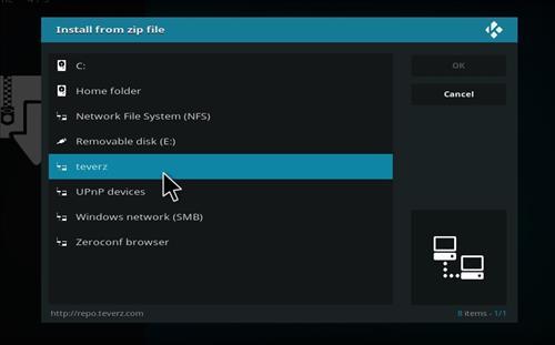 How to Install Teverz Ultra Kodi Build with Screenshots step 11