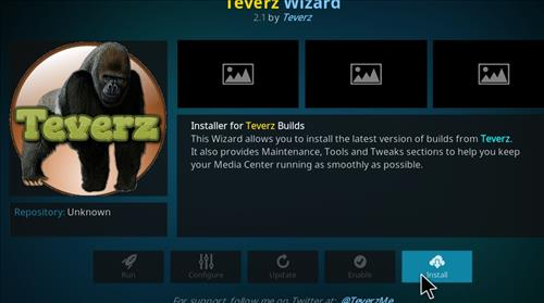 How to Install Teverz Ultra Kodi Build with Screenshots step 18