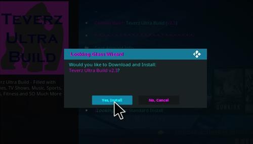 How to Install Teverz Ultra Kodi Build with Screenshots step 27