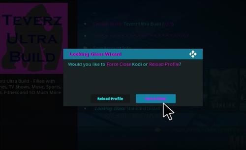 How to Install Teverz Ultra Kodi Build with Screenshots step 29