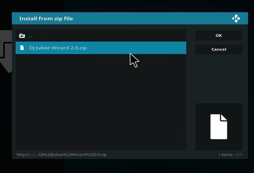 How to Install The DJ Jubee Build Kodi with Screenshots step 12