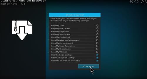 How to Install The DJ Jubee Build Kodi with Screenshots step 15