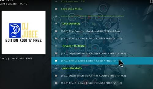 How to Install The DJ Jubee Build Kodi with Screenshots step 17