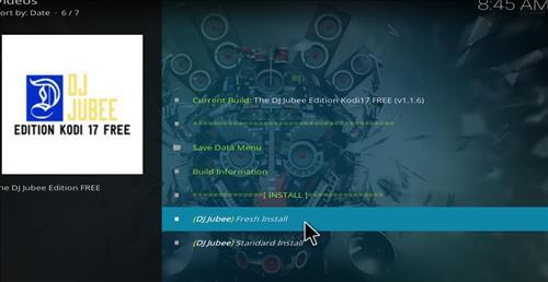 How to Install The DJ Jubee Build Kodi with Screenshots step 18
