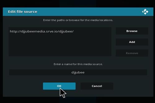 How to Install The DJ Jubee Build Kodi with Screenshots step 7