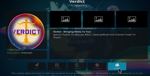 How to Install Verdict Kodi Add-on with Screenshots step 18