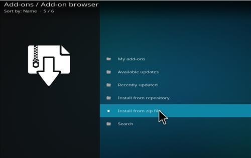 How to Install Warlock Kodi Build with Screenshots step 10