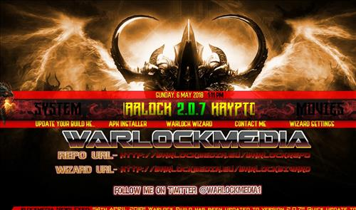 How to Install Warlock Kodi Build with Screenshots step 20