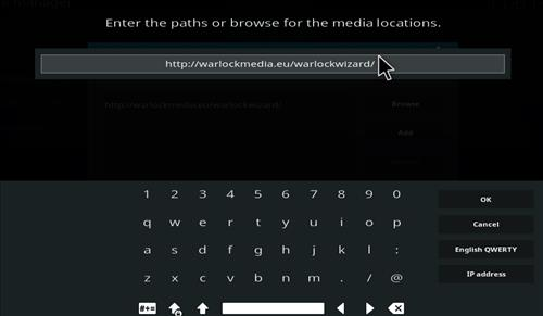 How to Install Warlock Kodi Build with Screenshots step 5