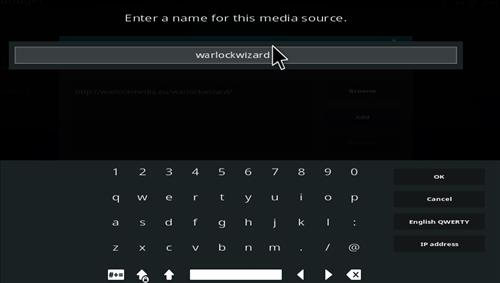 How to Install Warlock Kodi Build with Screenshots step 6