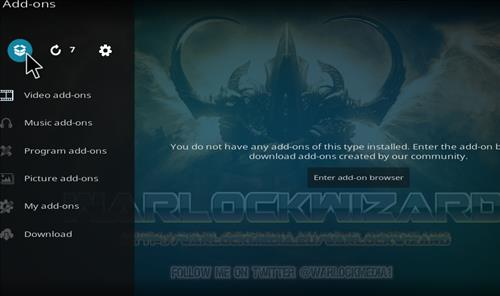 How to Install Warlock Kodi Build with Screenshots step 9