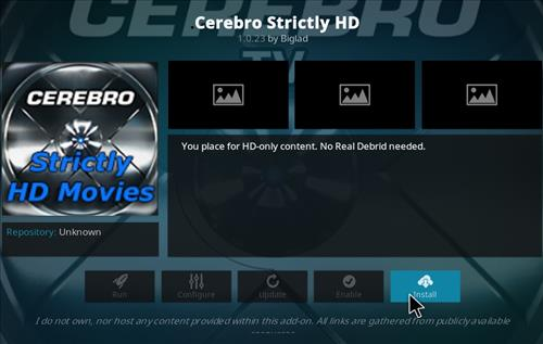 How top Install Cerebro Strictly HD Movies Kodi Add-on with Screenshots step 18