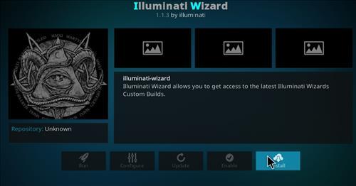 how to install illuminati kodi build step 18