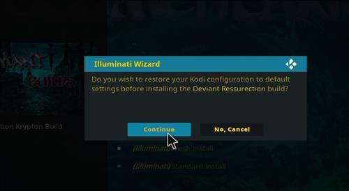 how to install illuminati kodi build step 26
