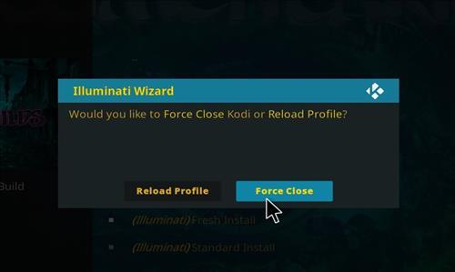 how to install illuminati kodi build step 28