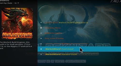 how to install warlock Kodi build with screenshots step 15