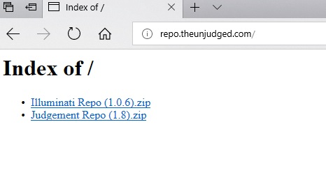 manual and download judgment repo step 1
