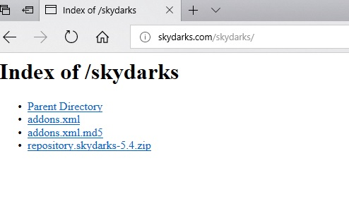 manual and download skydarks repository step 1