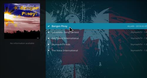 How to Install Bangon Pinoy Kodi Add-on with Screenshots step 17