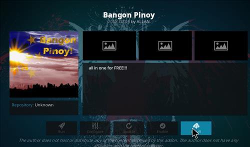 How to Install Bangon Pinoy Kodi Add-on with Screenshots step 18