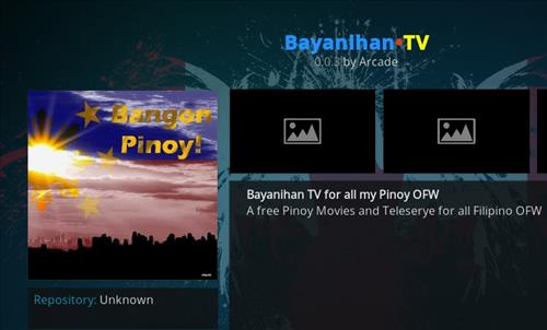 How to Install Bayanihan TV Kodi Add-on with Screenshots pic 1