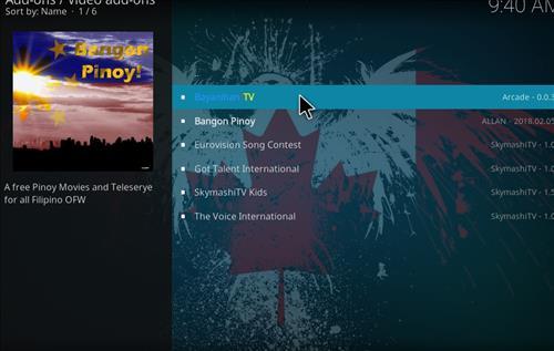 How to Install Bayanihan TV Kodi Add-on with Screenshots step 17
