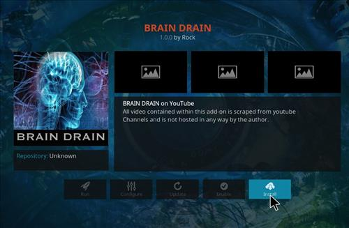 How to Install Brain Drain Kodi Add-on with Screenshots step 18