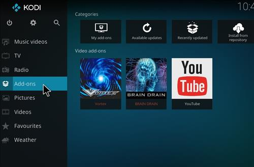 How to Install Brain Drain Kodi Add-on with Screenshots step 8