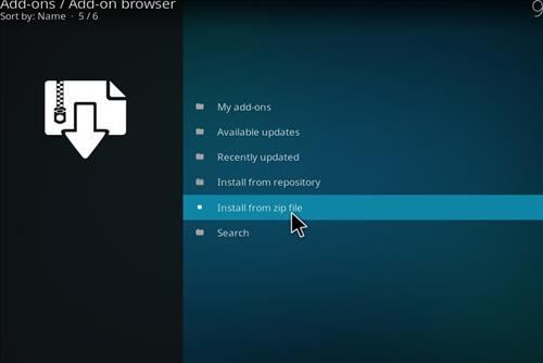 How to Install Chronos Kodi Add-on with Screenshots step 10