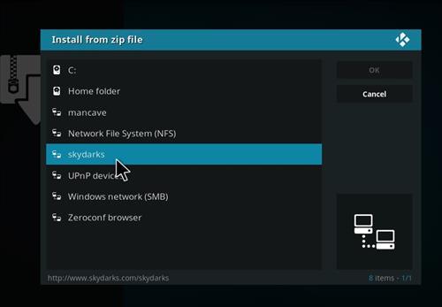How to Install Chronos Kodi Add-on with Screenshots step 11