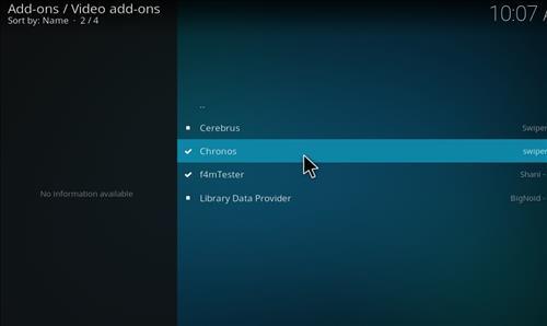 How to Install Chronos Kodi Add-on with Screenshots step 17