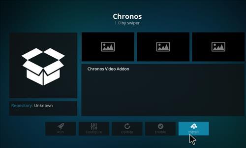 How to Install Chronos Kodi Add-on with Screenshots step 18