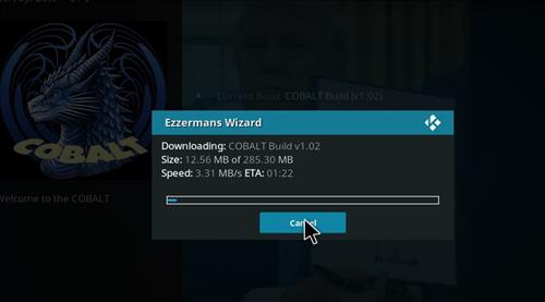 How to Install Cobalt Kodi Build with Screenshots step 20