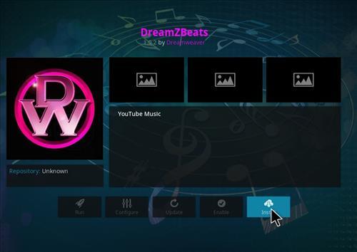 How to Install DreamZBeats Kodi Add-on with Screenshots step 18