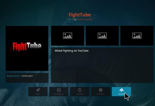 How to Install Fight Tube Kodi Add-on with Screenshots step 18