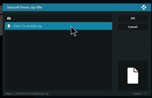 How to Install Insomniacs Kodi Build with Screenshots step 12
