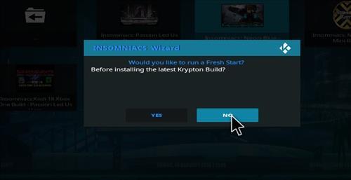 How to Install Insomniacs Kodi Build with Screenshots step 17