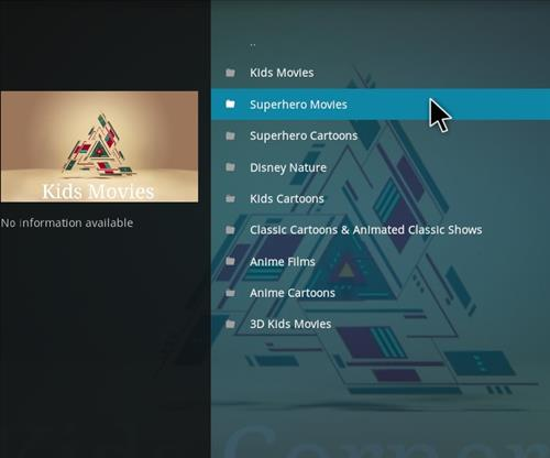How to Install Kids Corner V2 Kodi Add-on with Screenshots pic 2