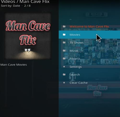 How to Install Man Cave Flix Kodi Add-on with Screenshots pic 2