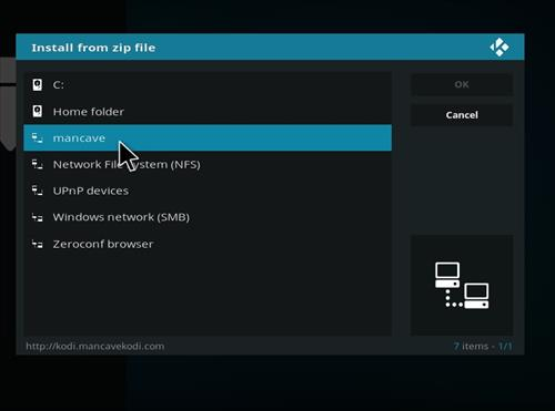 How to Install Man Cave Flix Kodi Add-on with Screenshots step 11