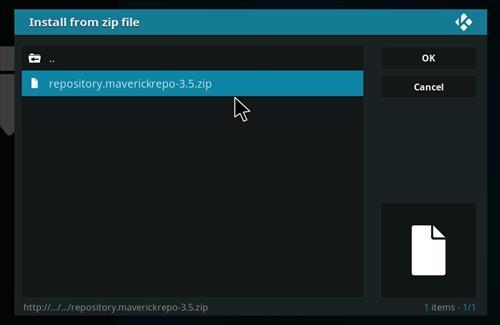 How to Install Maverick TV Kodi Add-on with Screenshots step 12