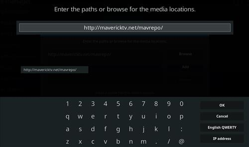 How to Install Maverick TV Kodi Add-on with Screenshots step 5