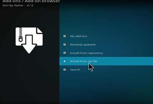 How to Install Nebula Kodi Build with Screenshots step 10