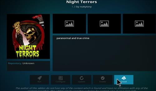 How to Install Night Terrors Kodi Add-on with Screenshots step 18
